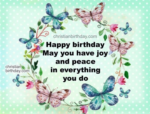 3 Religious Birthday Cards God bless you quotes – Birthday Cards Religious