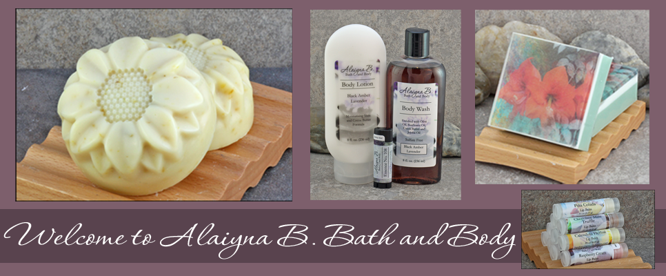 Alaiyna B. Bath and Body Website