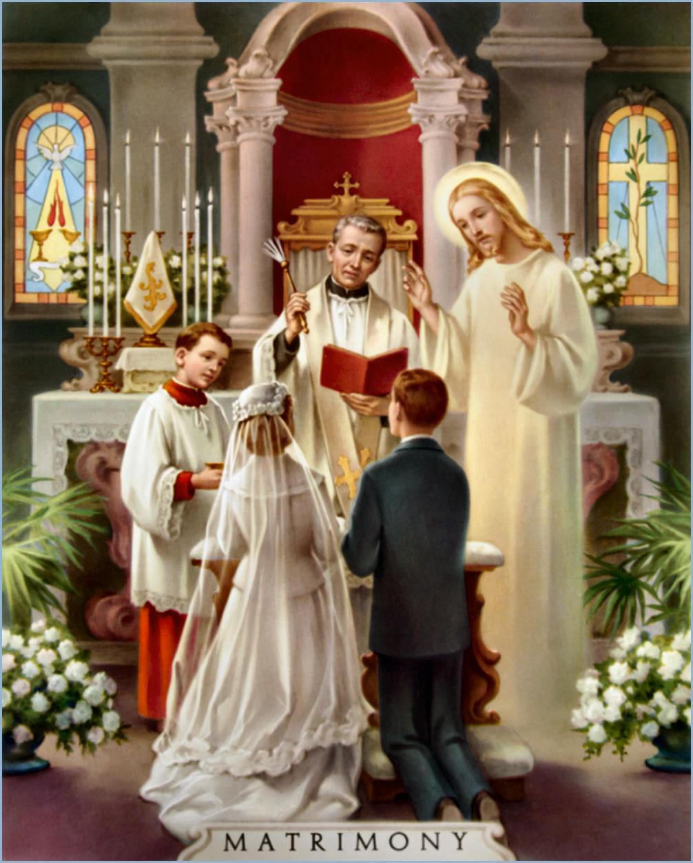 Matrimonio Q Significa : Almas devotas os sete sacramentos matrimÔnio