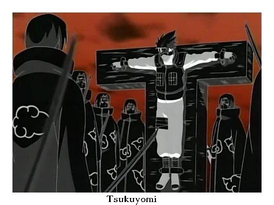Doujutsu-Mangekyou Sharingan Tsukuyomi