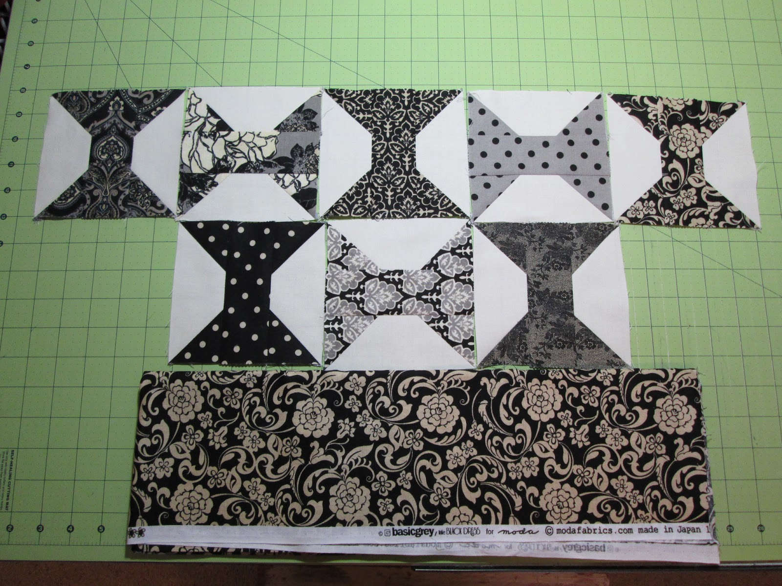 Cozy Little Quilts Schnibbles Gentle Art Quilt Using Little Black Dress