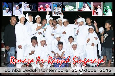 Team Bedug Remaja Masjid Ar-Rasyid 2012