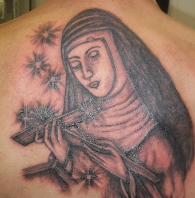 TATUAJES RELIGIOSOS VIRGEN MARIA