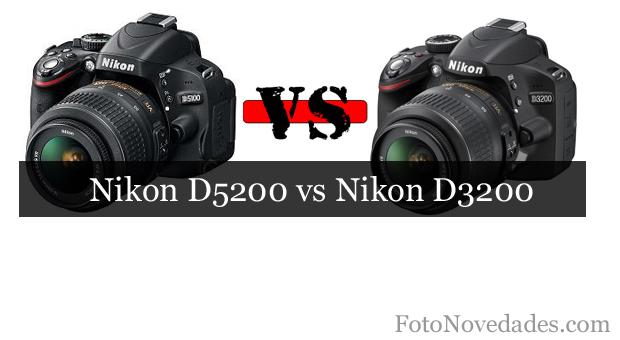 Nikon D5200 Vs Nikon D3200, D5200, d3200, versus, comparación, analisis, rivales, nikon