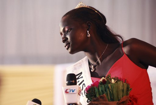 Miss World South Sudan 2013 Manuela Mogga Matong
