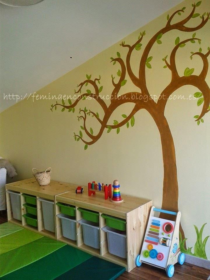 F mina en construcci n habitaci n infantil inspirada en for Espejo montessori