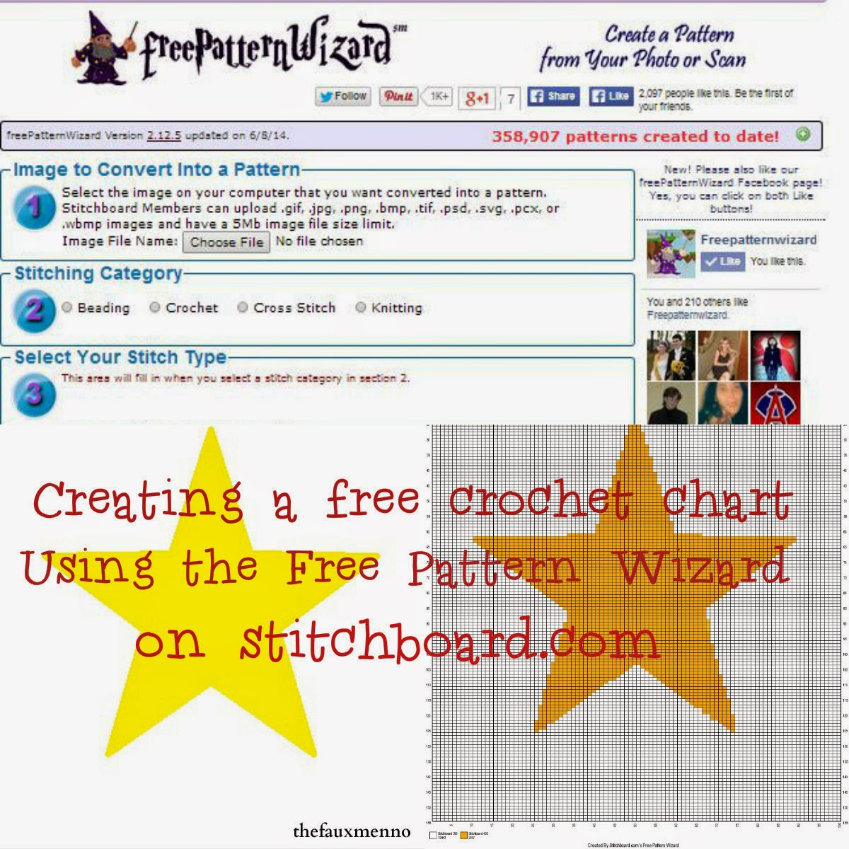 Tutorial: Using the Free Pattern Wizard to Create a Crochet Graph