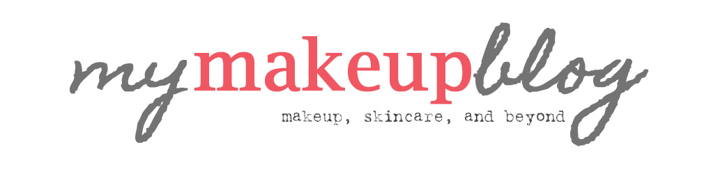 My Makeup Blog: makeup, skin care and beyond