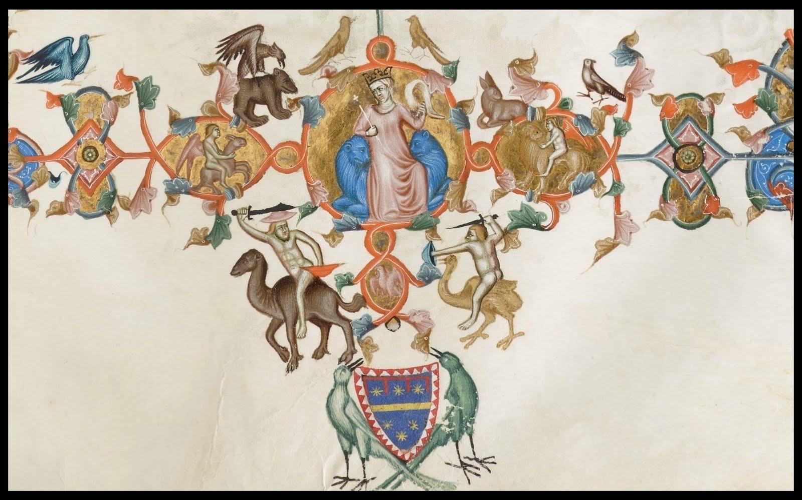 cropped manuscript decoration