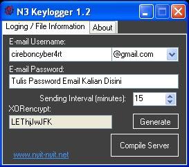 N3 Keylogger 1.2