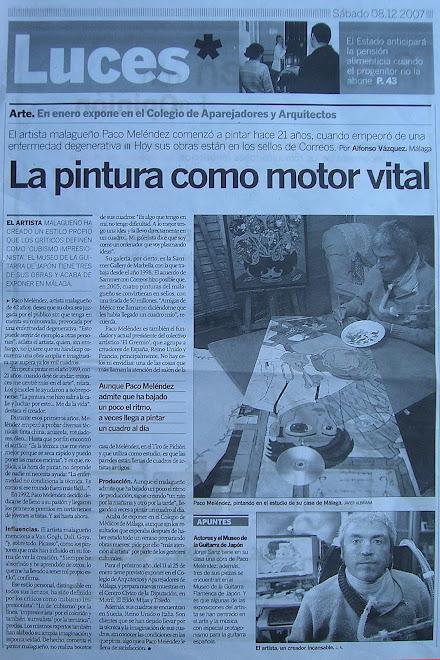 """""""ARTICULO LA OPINIÓN DE MÁLAGA"""""""