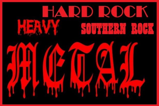ΗΑRD ROCK - HEAVY METAL & SOUTHERN ROCK