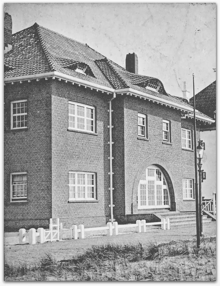 Noordwijkse huizen het witte huis in bruin - Scherm huis ...