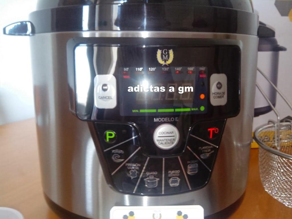 Cocinar con la nueva gm e for Cocinar con olla gm