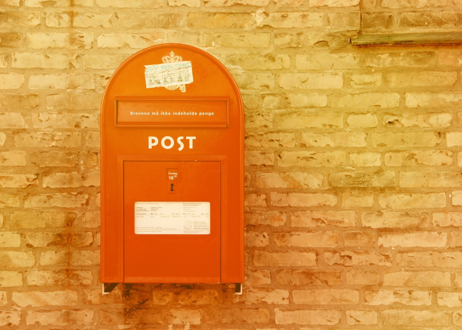 Vintage post office
