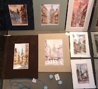 Akvarellis, papīrs, Cena 17 Ls