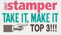 Craft Stamper TIMI top 3!!