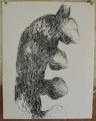 Fusain / papier 41 x 32 2011