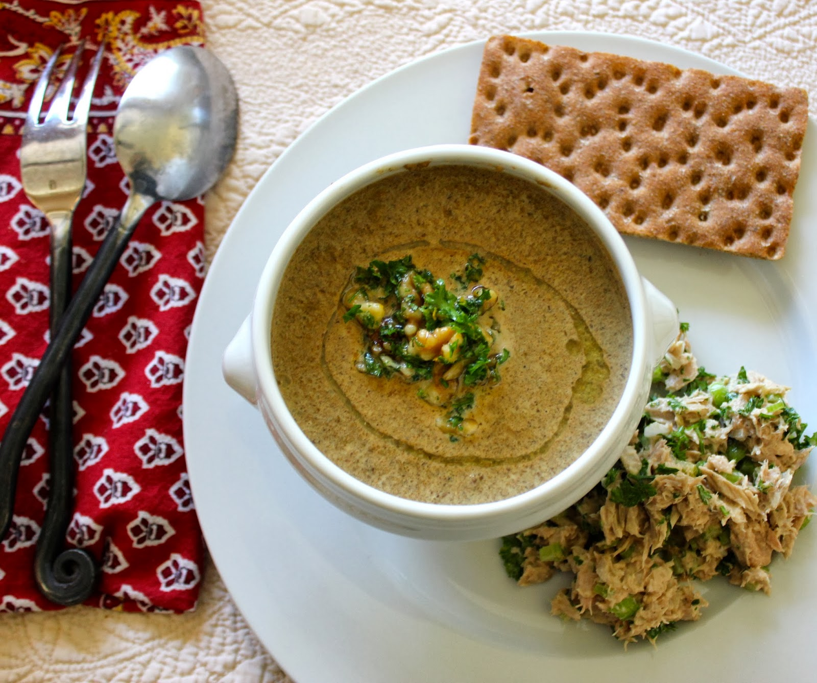 The Gypsy Chef: Jerusalem Artichoke Soup with Truffle oil ...