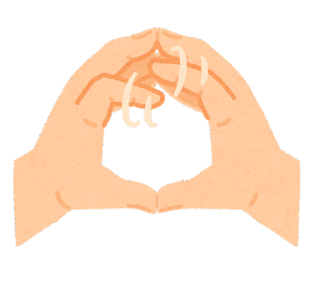 指運動のイラスト