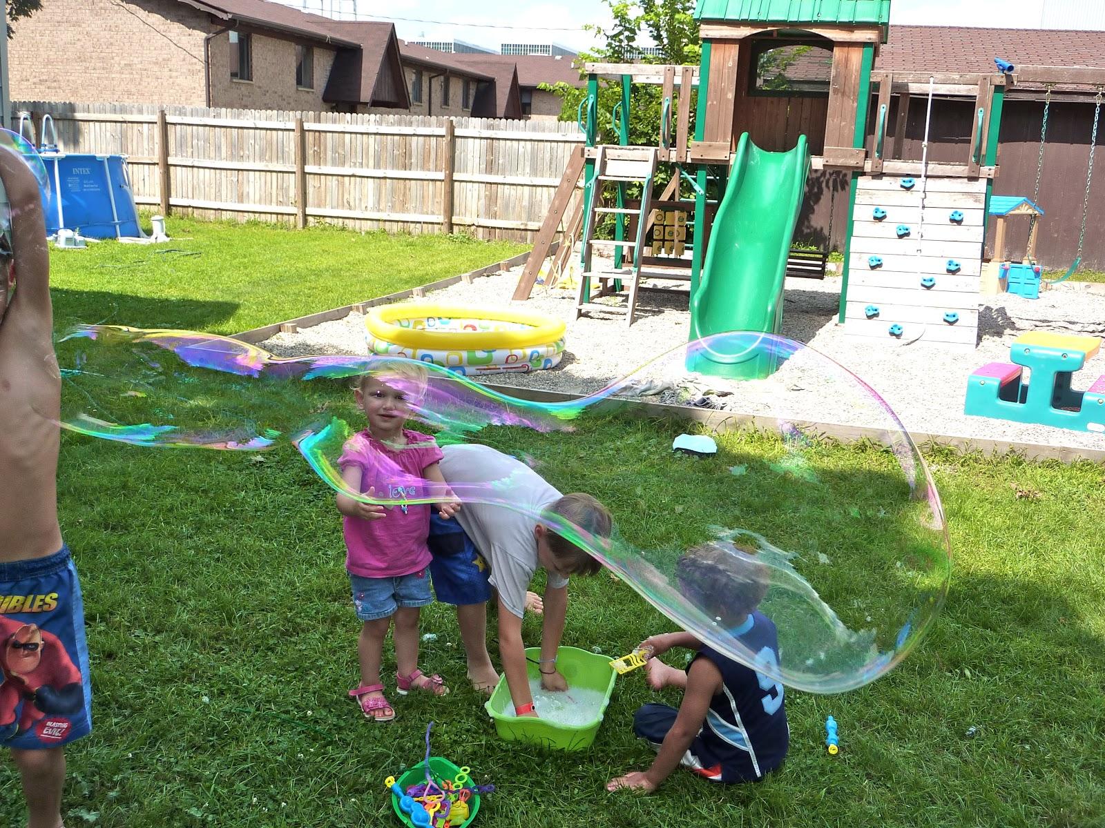 bubble fun and edible aquariums