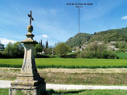 La creu-pedró de Sant Andreu de Gurb