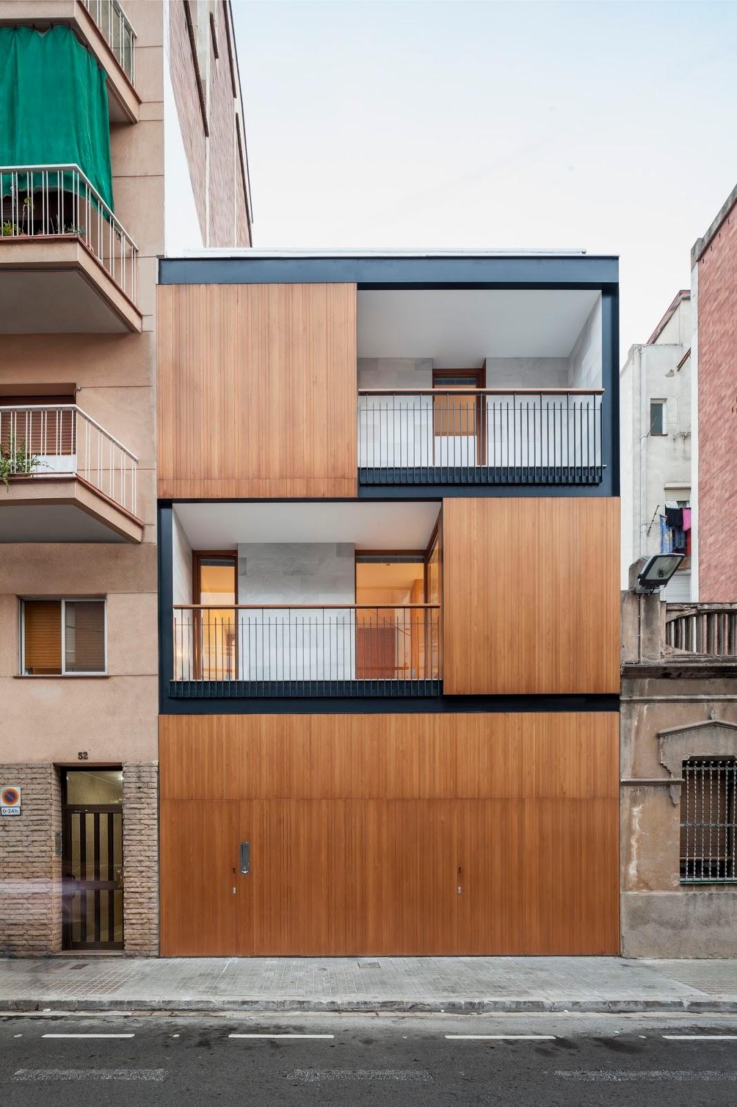Alventosa morell arquitectes a f a s i a - Natura casa barcelona ...
