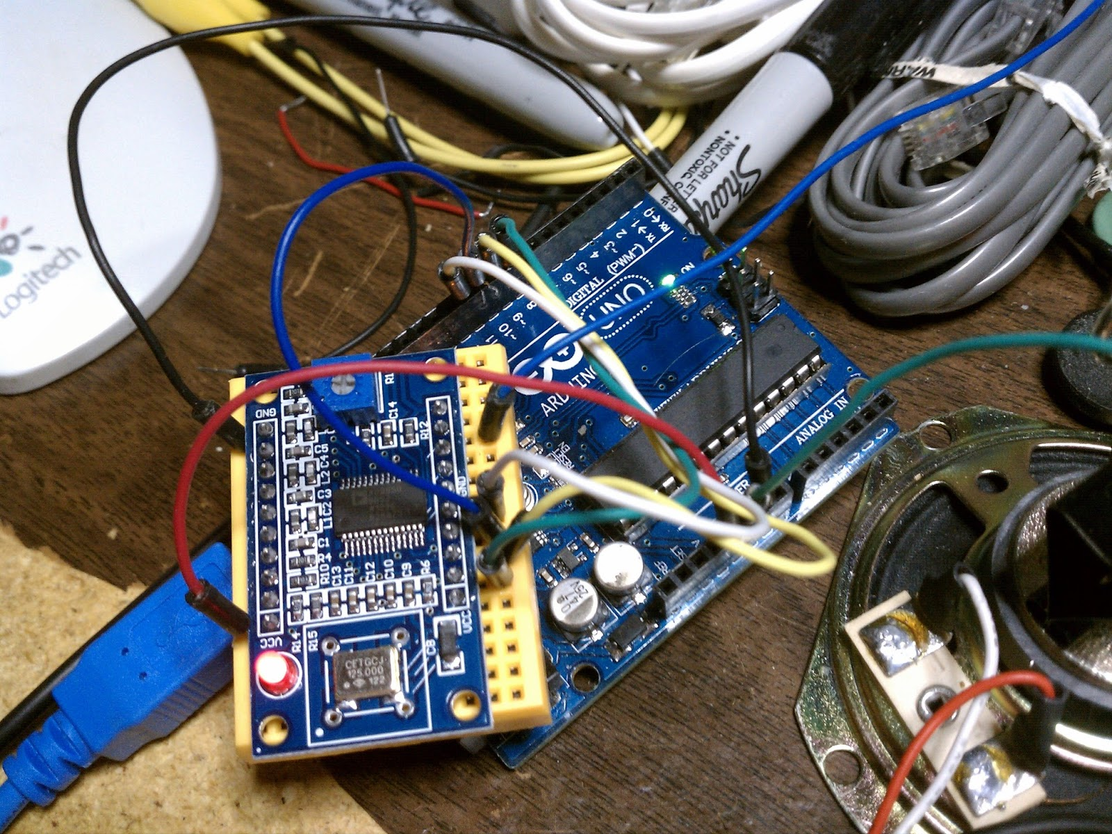 Homebrew Arduino/ AD9850 Antenna Analyzer-Sweeper K6BEZ