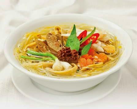 Vietnamese Bamboo Shoots and Chicken Noodle Soup - Gà nấu măng