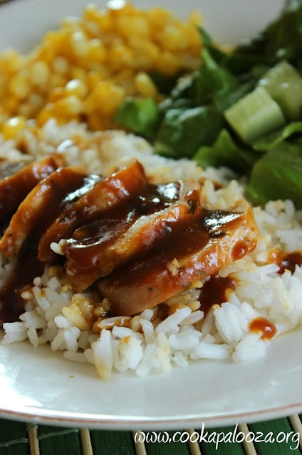 ... Cook-a-Palooza Experience: Oven Baked Chicken with Ginger Plum Sauce
