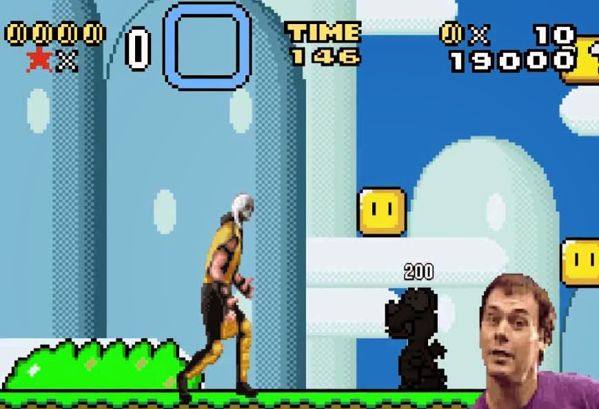 Super Mario Kombat, vídeo paródia