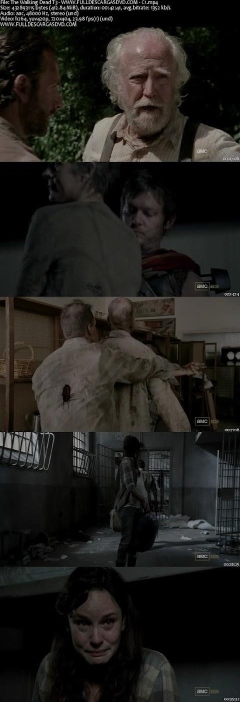 """Descargar The Walking Dead 3×1 """"Seed"""" Subtitulado HDTV 2012"""