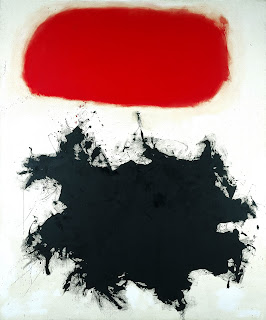 Adolph Gottlieb's Cadmium Red Over Black