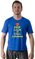 Camiseta Superman Keep Calm