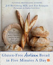 Gluten-Free Artisan Bread in Five Minutes a Day cover