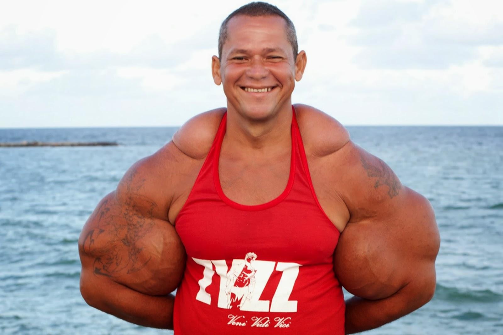 Самая большая мускулатура культуристки 2 фотография