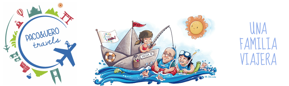 Blog para viajar con niños por el mundo Paco y Vero Travels