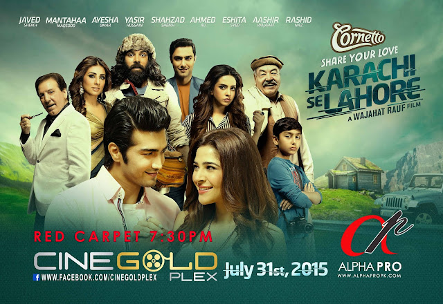 This Friday Islamabad will be spiced up by the Cast of Karachi Se Lahore www.infopaktel.com