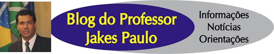 Blog do Professor Jakes Paulo