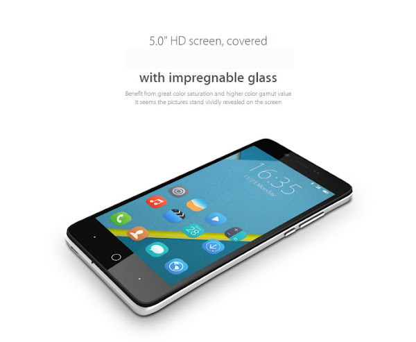 Elephone P6000 - Display