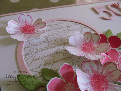 Stampin' Up Pansy Punch and Flower shop stamp