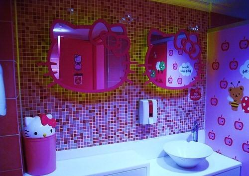Wonderful Hello Kitty Bathroom Tiles Hello Kitty  Tiles
