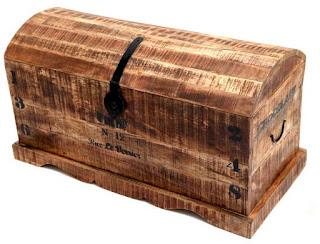 Arcon baul madera reciclada