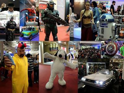 Fotos da Comic Con Experience 2014