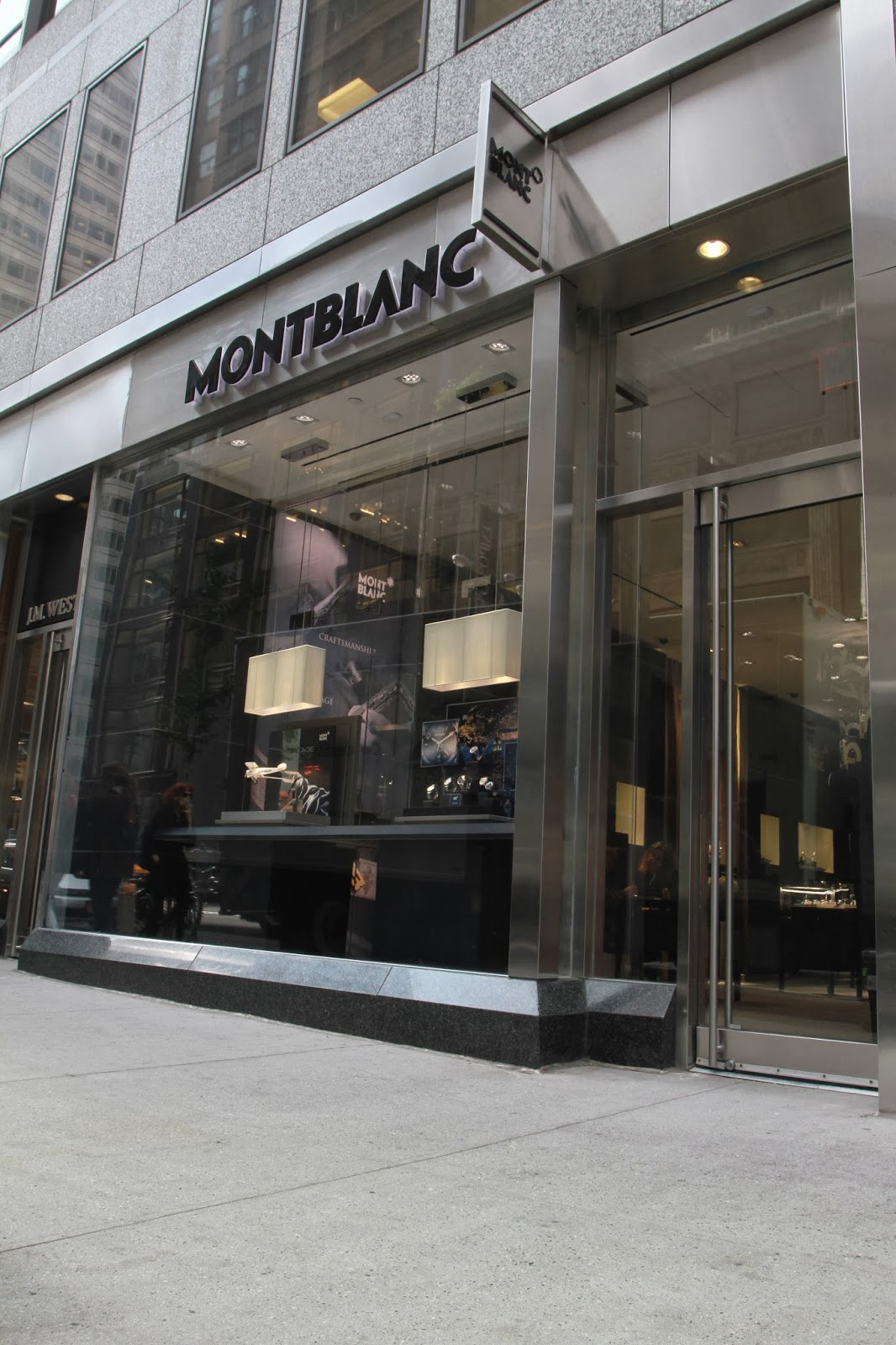 niwdenapolis montblanc boutique opening at madison avenue new york. Black Bedroom Furniture Sets. Home Design Ideas