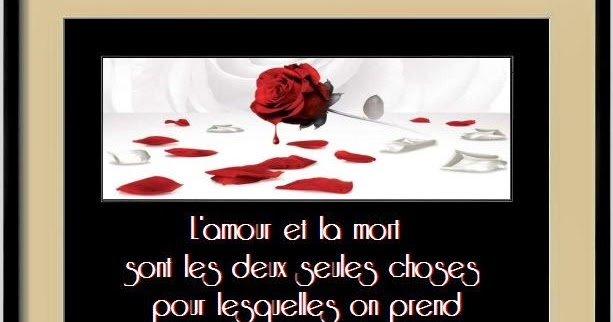 Dissertation amour mort