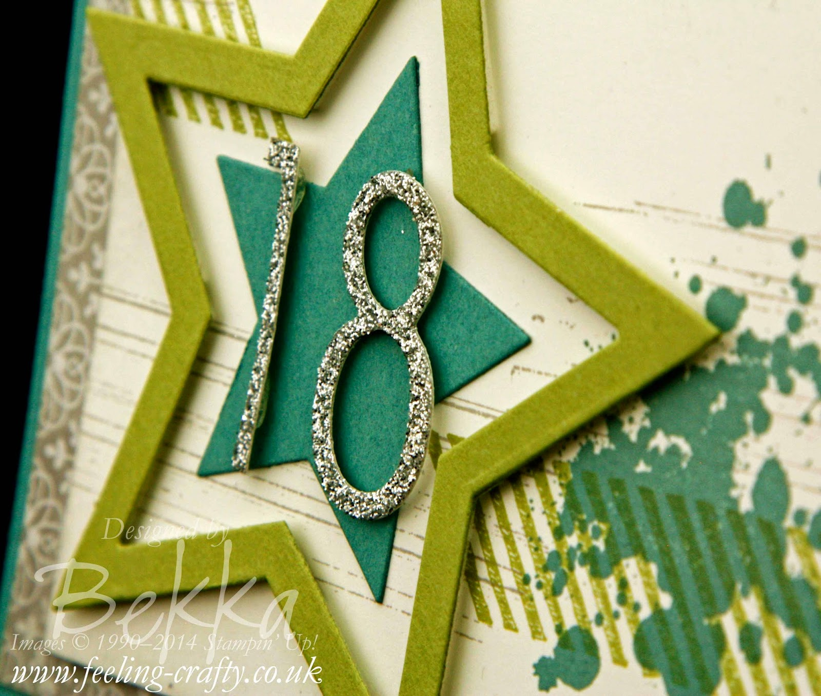 18th Birthday Card for a man using Stampin' Up! Supplies - check this blog for lots of great ideas