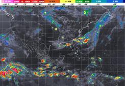 Onda tropical número 18 recorrerá la pénínsula de Yucatán