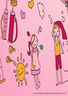 Imprimir dibujos infantiles