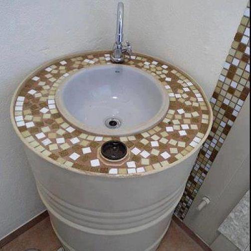 Ecosenda un estilo de vida natural ideas para ba os con - Material de bano ...